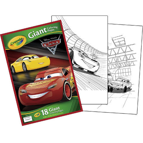 Crayola Carte de Colorat Gigant Cars