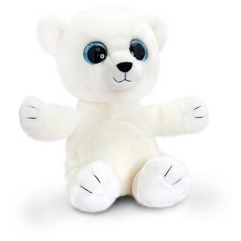 Ursulet polar de plus Sparkle Eyes 25 cm Keel Toys