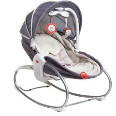 Sezlong 3 in 1 Rocker Napper Gri-Bej, Tiny Love