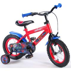 Bicicleta E&L Spiderman 12''