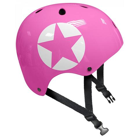 STAMP Casca protectie Pink Star