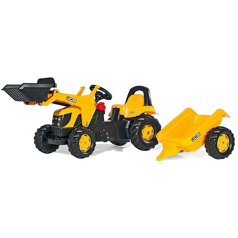 Rolly Toys Tractor cu pedale Rolly KidJCB Galben
