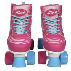 Patine  cu Rotile Power Pink 34-35