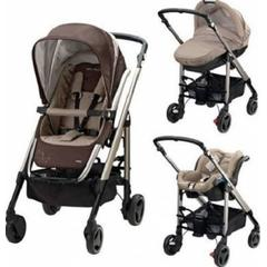 Carucior Trio Loola 2 Bebe Confort WALNUT BROWN