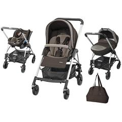 Carucior Trio Streety Next Bebe Confort Earth Brown