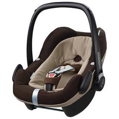 Pachet Cos auto Maxi-Cosi Pebble Plus I-Size + Baza auto Maxi-Cosi 2wayFix EARTH BROWN