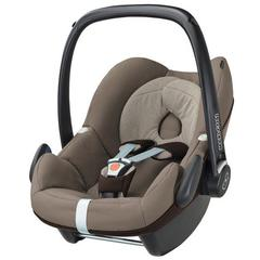 Pachet Cos auto Maxi-Cosi Pebble + Baza auto Maxi-Cosi Familyfix EARTH BROWN