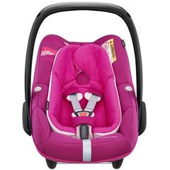 Pachet Cos auto Maxi-Cosi Pebble Plus I-Size + Baza auto Maxi-Cosi 2wayFix FREQUENCY PINK