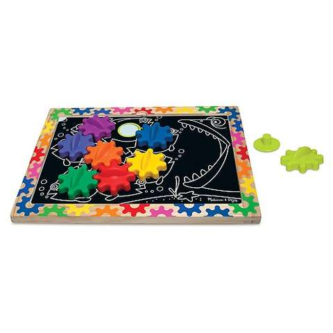 Melissa&Doug Puzzle magnetic - Schimba si roteste