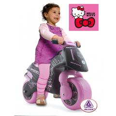 Motocicleta fara pedale Hello Kitty