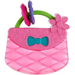 Bright Starts-9063-Posetuta Pretty in Pink Carry & Teethe Purse